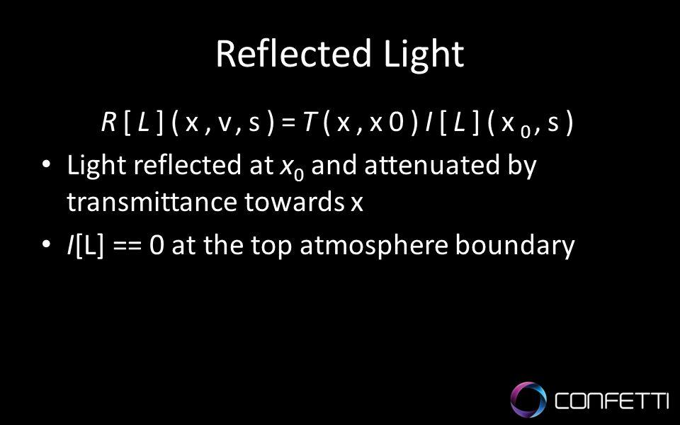 R[L](x,v,s)=T(x,x0)I[L](x0,s)